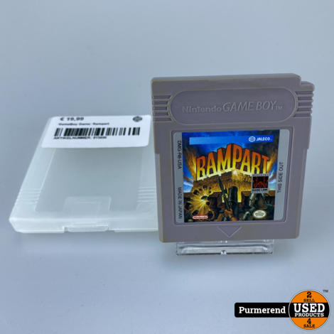 GameBoy Game: Rampart