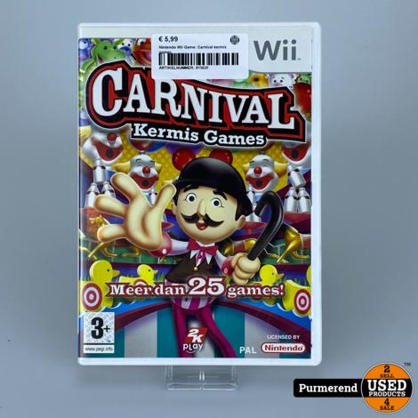 Nintendo Wii Game: Carnival kermis games