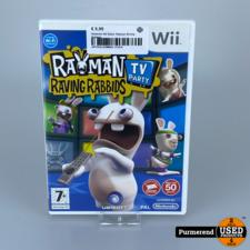 Nintendo Wii Game: Rayman Raving Rabbids