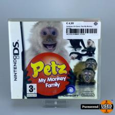 Nintendo DS Game: Petz My Monkey Family