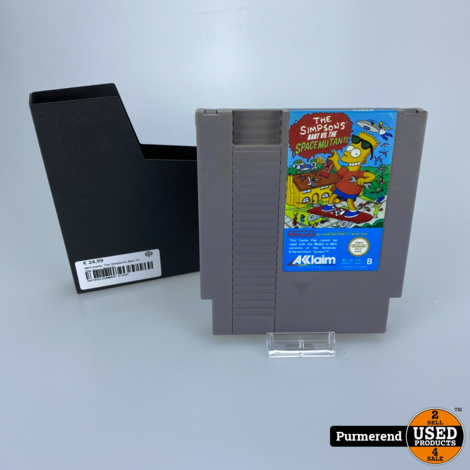 NES Game: The Simpsons Bart vs. The Space Mutants