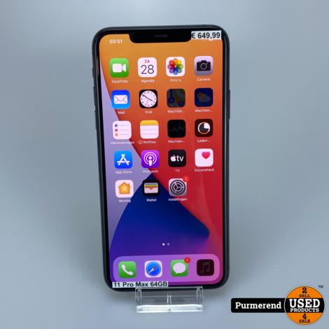 iPhone 11 Pro Max 64GB Graphite Grey