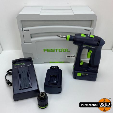 Festool C 18 Li 5,2-Plus | Nieuw