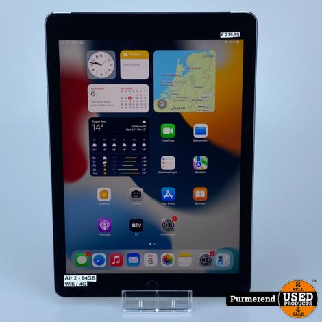 iPad Air 2 64GB WIFI / 4G Space Gray