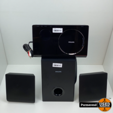 Philips SoundHub 2.1 HTS4600 DVD SPELER MET SPEAKERS