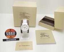 BURBERRY Burberry BU1770 Wit Keramisch horloge ||| Nieuw in doos