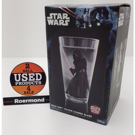 Star Wars Ep VII - Kylo Ren kleur verander glas || NIEUW