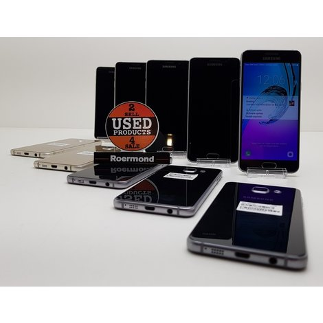 Samsung Galaxy A3 (2016) 16GB Black || Gebruikt