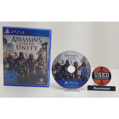 Assassin's Creed Untiy || Playstation 4 (PS4) Game