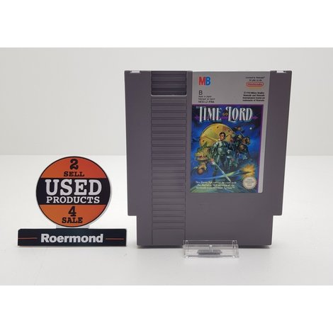 Time Lord NES cassette || nette staat