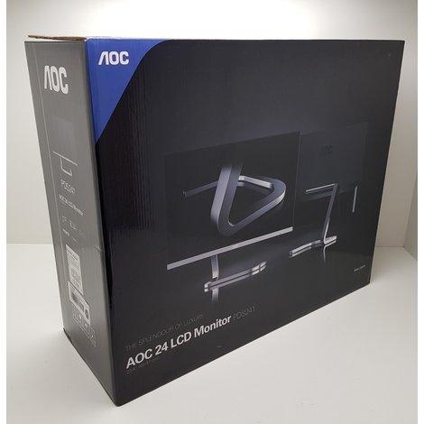 AOC PDS241 Full HD AH-IPS Monitor Black/Silver || Nieuw in doos