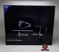 aoc AOC PDS241 Full HD AH-IPS Monitor Black/Silver    Nieuw in doos