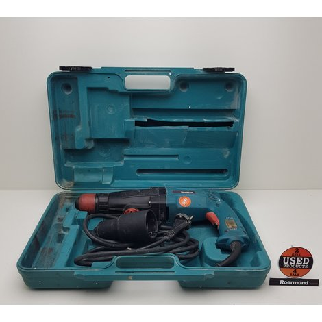 Makita HR2400 750W 3.4A Boorhamer Bekabeld || Gebruikt