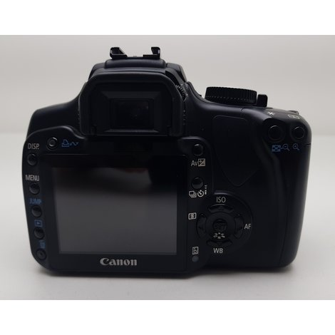 Canon EOS 400D Spiegelreflex + EF-S 18-55mm Kitlens || Gebruikt