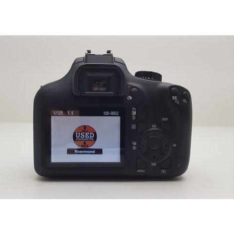 Canon 4000D + Canon EFS 18-55mm Kitlens    Gebruikt