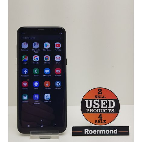 Samsung Galaxy S8 plus black 12GB || nette staat
