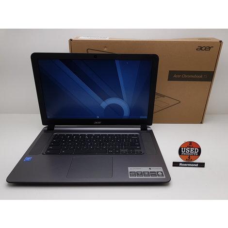 Acer Chromebook 15 CB3-532-C8E Chromebook || Gebruikt met bon
