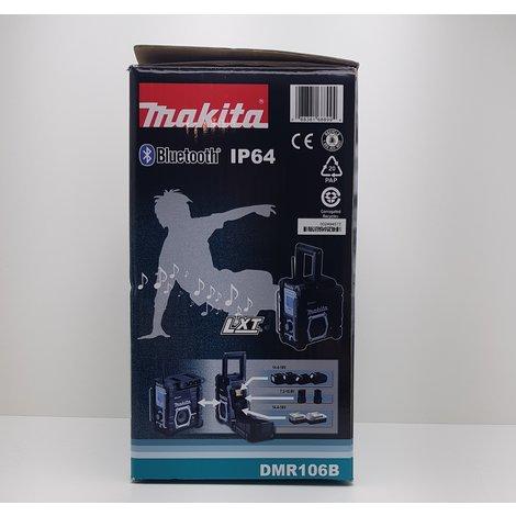 Makita DMR106B Buetooth IP64 bouwradio || Nieuw