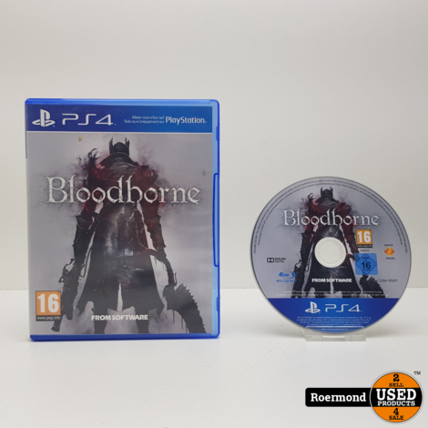 Bloodborne    Playstation 4 (PS4) Game