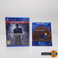 Playstation 4 Games Uncharted A thiefs end 4 || Playstation (PS4) Game || gebruikt