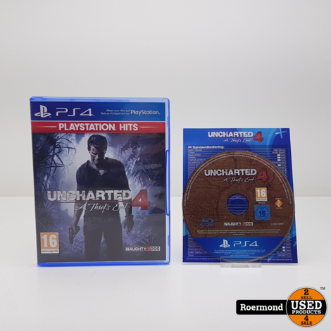 Uncharted A thiefs end 4 || Playstation (PS4) Game || gebruikt