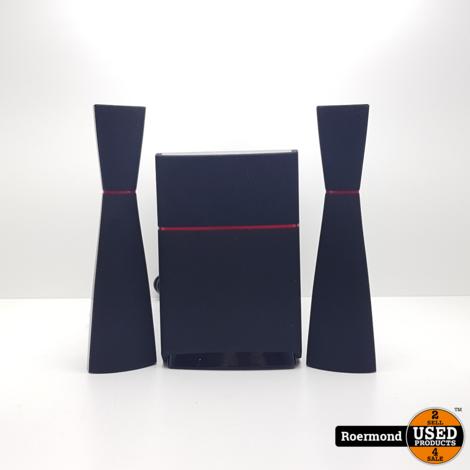 * Edifier M3200 2.1 multimedia speaker set || nette staat