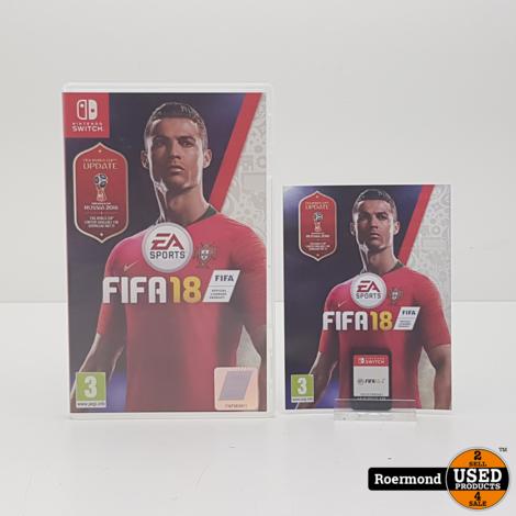 * Nintendo Switch    FIFA 18    Zgan