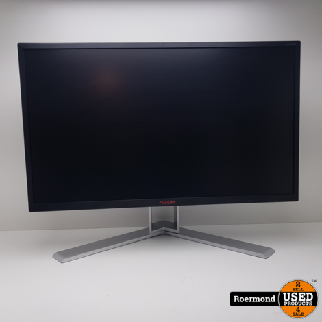 AOC AGON AG271QX 27 inch 1ms 144Hz Quad HD Monitor    Nette staat