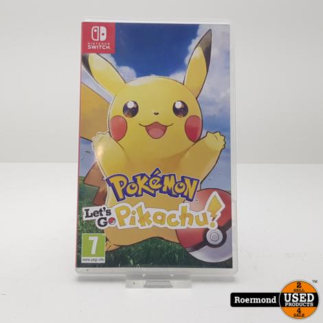 Nintendo Switch || Pokemon let's go Pikachu