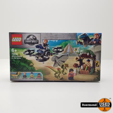 Lego Jurassic Dilophosaurus on the Loose (75934) bouwpakket | Nieuw geseald