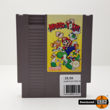 Nintendo Mario & Yoshi NES Game