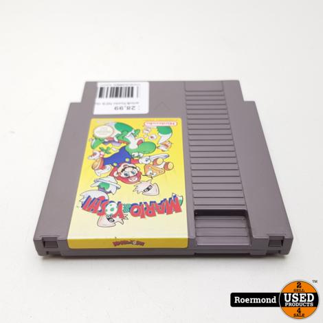 Mario & Yoshi NES Game