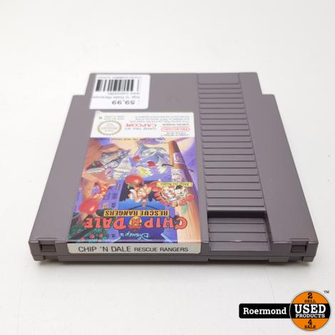 Chip 'n Dale Rescue Rangers NES losse cassette