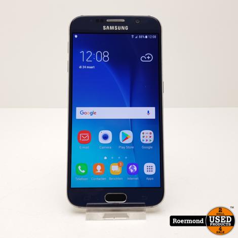 Samsung Galaxy S6 32Gb Blue Sapphire    Nette staat
