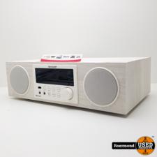 Sharp Sharp XL-BB20D DAB+ All-in-one Hi-Fi systeem - wit | Nieuw