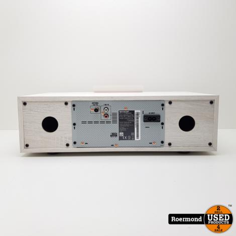 Sharp XL-BB20D DAB+ All-in-one Hi-Fi systeem - wit | Nieuw