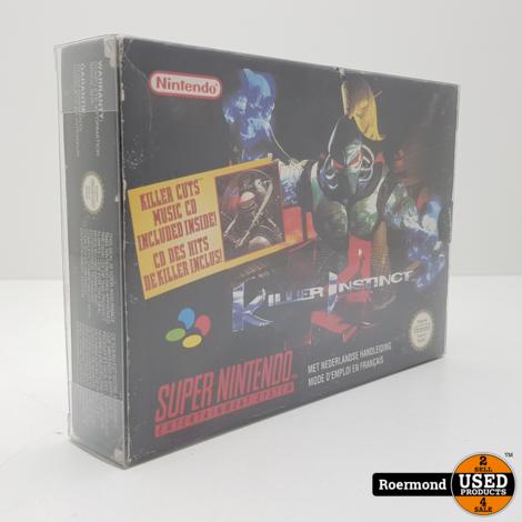 Killer Instinct Super Nintendo | Zgan in doos