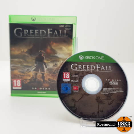 Xbox One Greed Fall Game I ZGAN