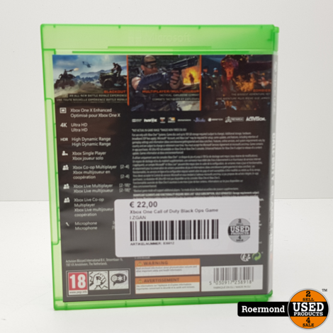 Xbox One Call of Duty Black Ops Game I ZGAN