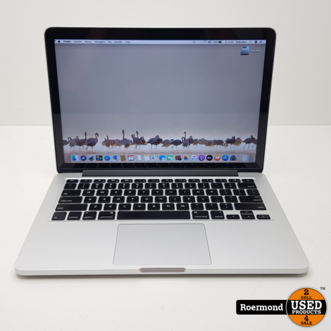 MacBook Pro Retina 13 inch i5 / 8Gb / 128Gb SSD | Zgan 1 jr. garantie