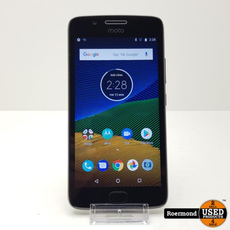 Motorola Moto G5 DUAL SIM 16GB Black | Zgan