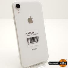 iphone iPhone XR 128GB Wit I ZGAN