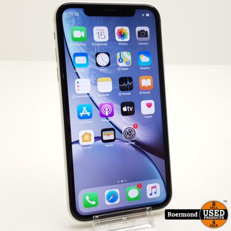 iPhone XR 128GB Wit I ZGAN