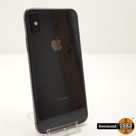 iPhone X 64GB Space Grey I ZGAN