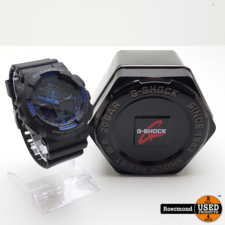 Casio G-Shock GA-100-1A2ER - Horloge - Kunststof - Zwart - Ø 50 mm || Gebruikt