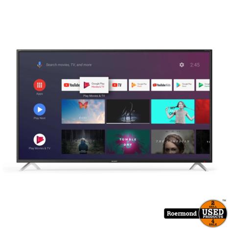 Sharp 50BL2EA 50inch 4K Smart TV | Nieuw 2jr garantie
