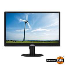 "Philips Philips 231S4LCB 23"" Full HD DVI / VGA Monitor Zwart | Nette staat"