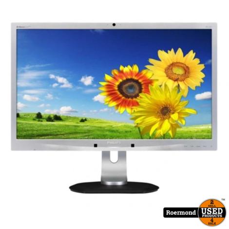 "Philips 231P4QPYKES 23"" Full HD DP/DVI/VGA Monitor Zilver | Nette staat"