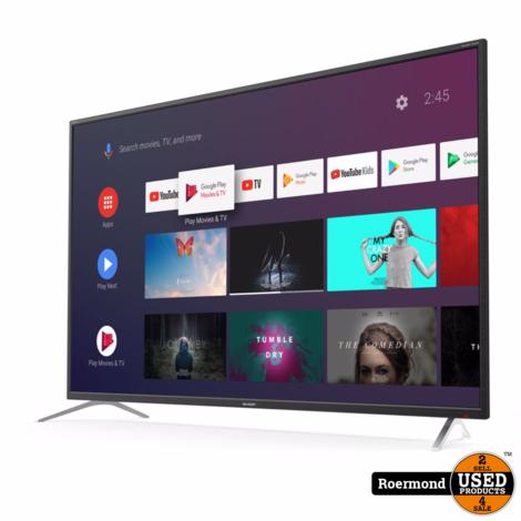 SHARP 65BL2EA 65inch 4K Ultra-HD Android SmartTV | Zgan 2 jr. garantie