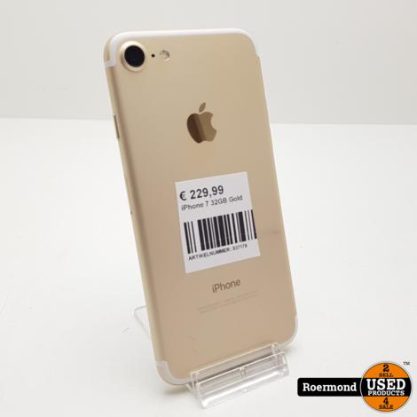 iPhone 7 32GB Gold I Gebruikt